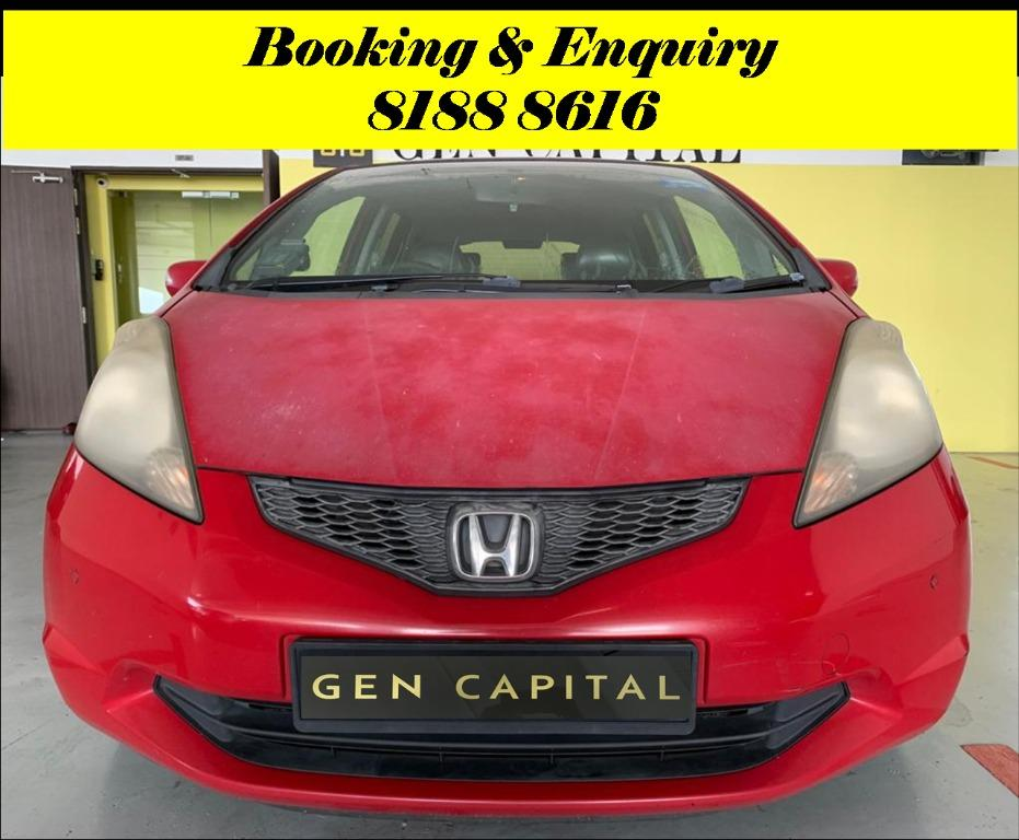 Honda Fit No more monday blues.. We have lowered rental rates due to Coronavirus for you to travel with a peace of mind. Super Fuel efficient & Spacious. $500 Deposit driveoff immediately! whatsapp 81888616 now to reserve!!