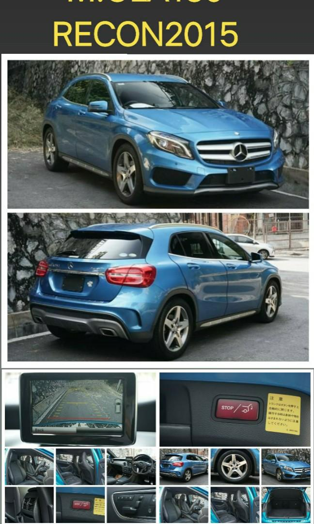 MERCEDES BENZ GLA180 2015RECORD👍👍👍 ON THE ROAD~PRICE  RM168,000.00⭐👍bank~interest2.55% 📱0⃣1⃣2⃣2⃣3⃣6⃣7⃣2⃣7⃣2⃣☺🙏