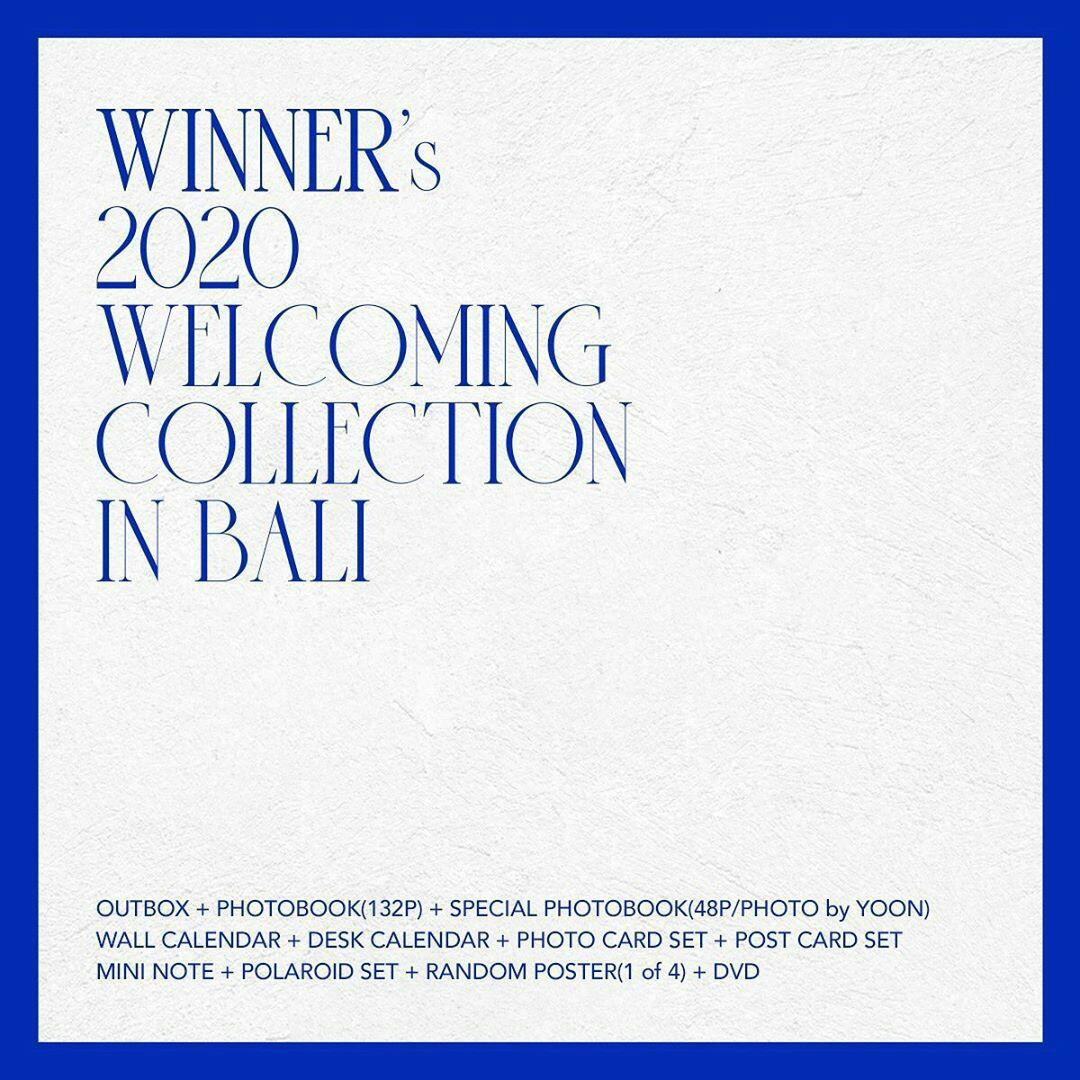 [PRE ORDER] WINNER 2020 WELCOMING COLLECTION IN BALI