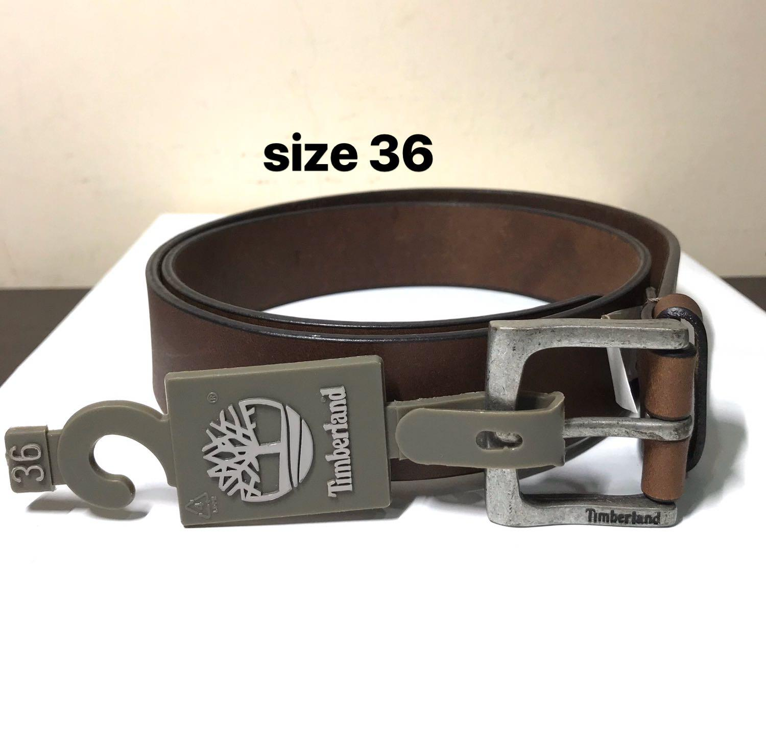 Timberland. Timberland Casual Belt. Genuine Leather. Size36. Thickness 36mm. Matt Steel BUCKLE. Deep Brown Belt Leather. Great with Jeans. Polished Smooth Upper leather and Raw leather underside. AUTHENTIC