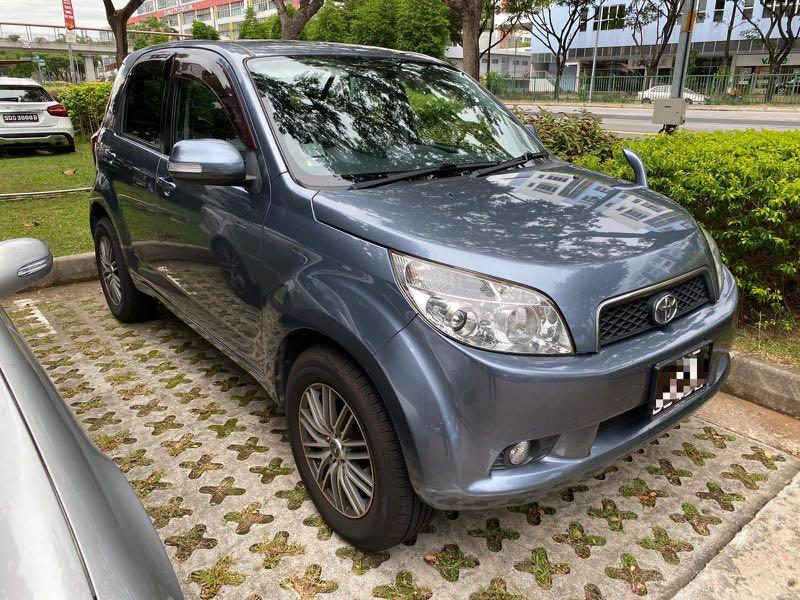 Toyota Rush 1.5A for rent rental short Long term leasing