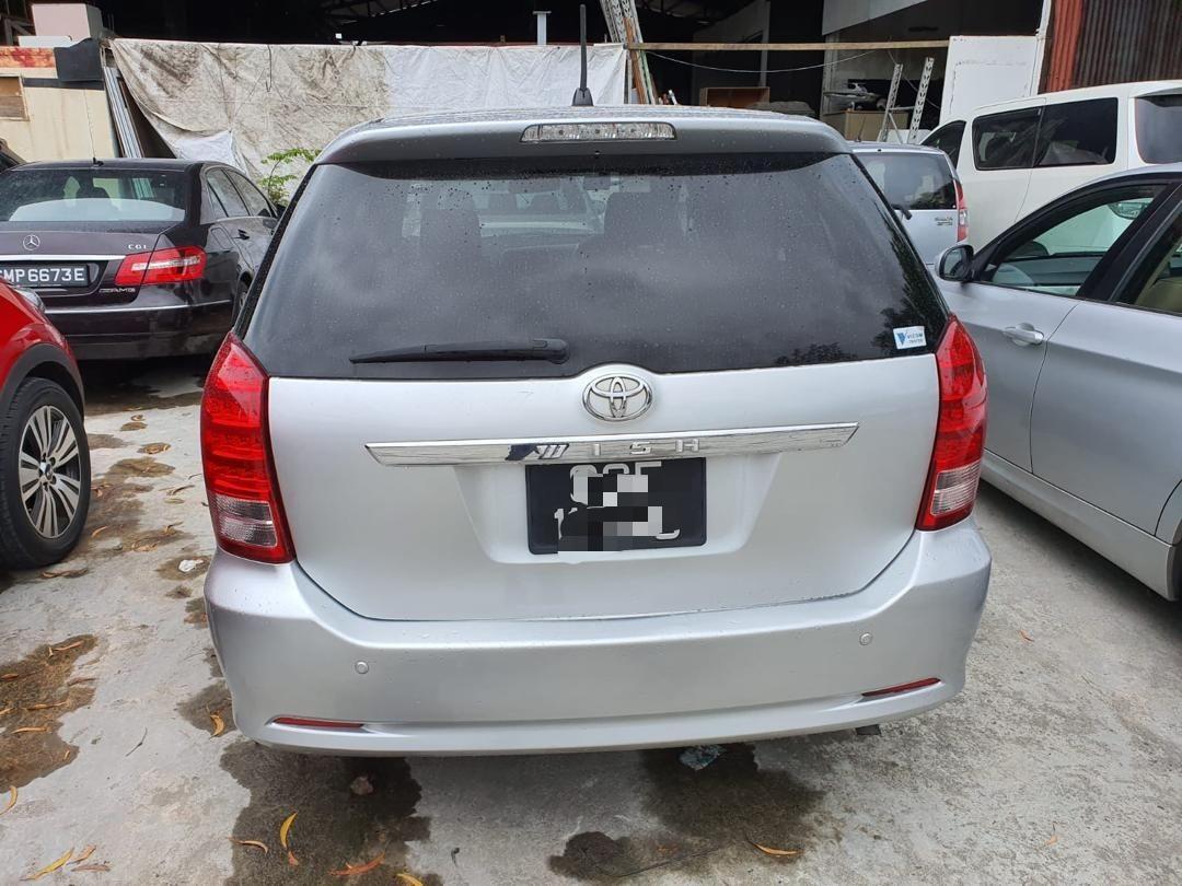 toyota wish LEGEND (SG CAR COMPLETE DOCUMENT, HALAL DIGUNAKAN DI ATAS JALAN RAYA MALAYSIA