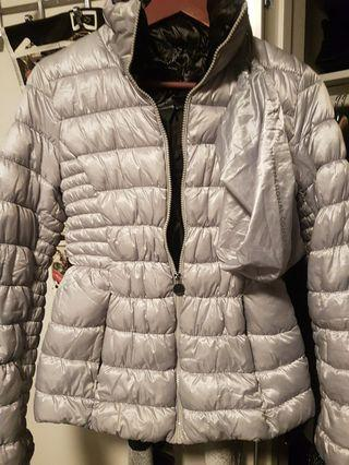 International concepts INC silver jacket size s
