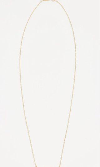 Jennifer Meyer diamond 18k stick necklace