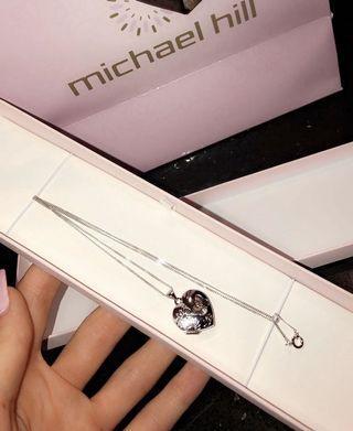 Micheal Hill sterling silver heart locket