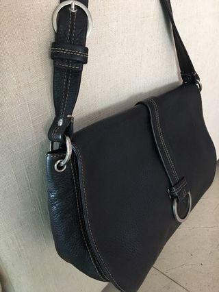 Original Cole Haan Black Leather Handbag