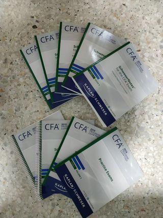 [Brand New] CFA Level 1 Physical Textbooks