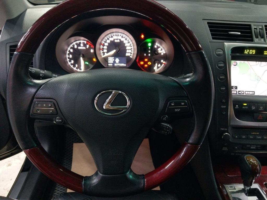 ✨✨2008年 Lexus GS350 旗艦頂級版✨✨超殺優惠31.8萬 實車實價 全貸 超貸 找錢