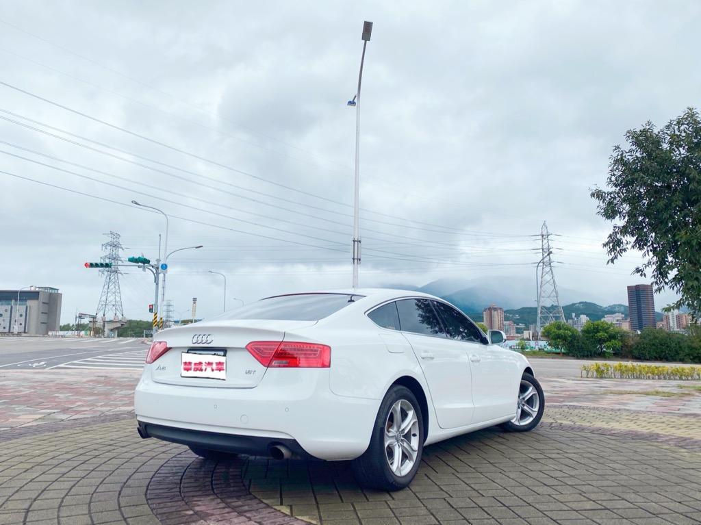 2012 Audi A5 Sportback 1.8 TFSI/四門轎跑車~喜歡無窗框但又想有實用性的車就這台