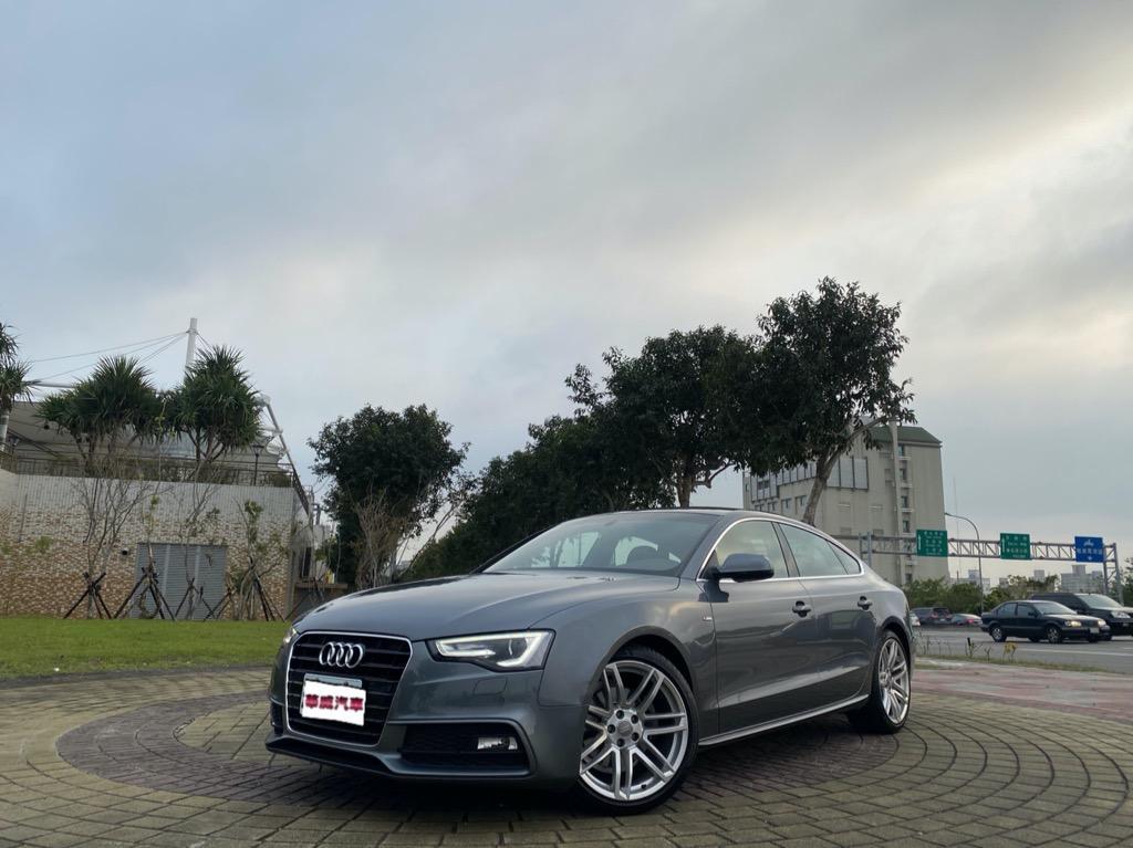 2014 Audi A5 Sportback 35 TFSIS line Competition特仕車/里程僅跑四萬公里/這台實在讓人又愛又恨的~~🥳🥳