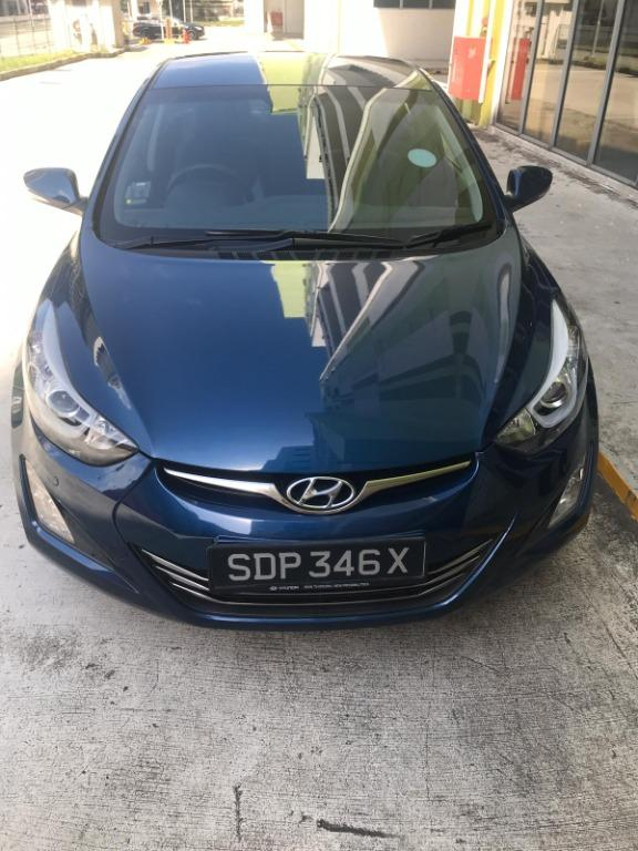 2015 Hyundai Elantra 1.6 AT ABS D/AB 2WD 4DR Grab/Personal Use