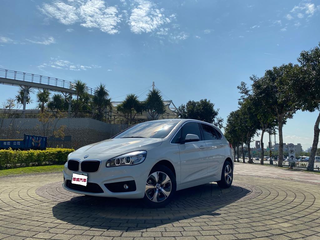 2018 總代理 BMW 2-Series Active Tourer 218i/里程跑三萬九千公里/小型MPV就可以製造大空間👍