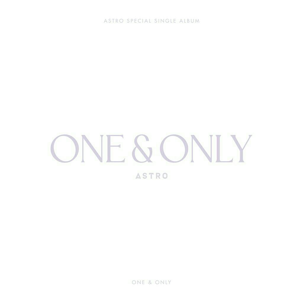 ASTRO - ONE AND ONLY (SPECIAL SINGLE ALBUM) PRE ORDER