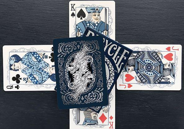 Last Bicycle Playing Poker Cards Oriental Dragon Toys Games Board Games Cards On Carousell