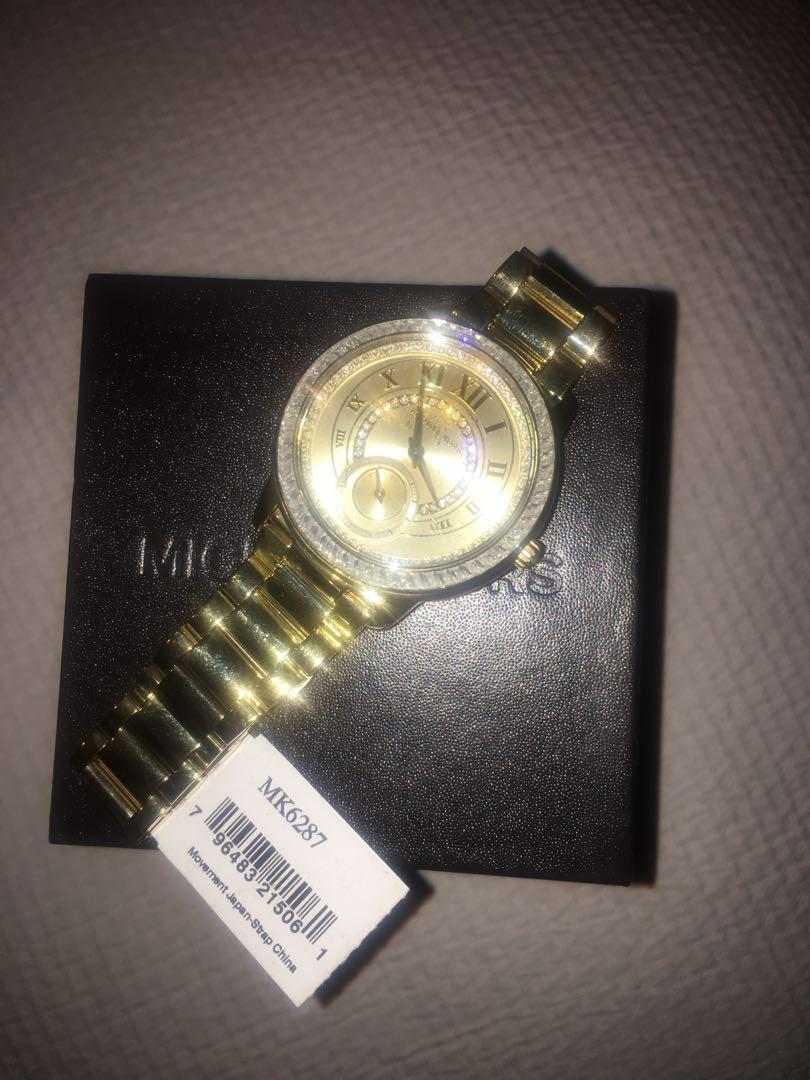 Brand new Michael Kors Women's Madelyn Gold-Tone Watch MK6287