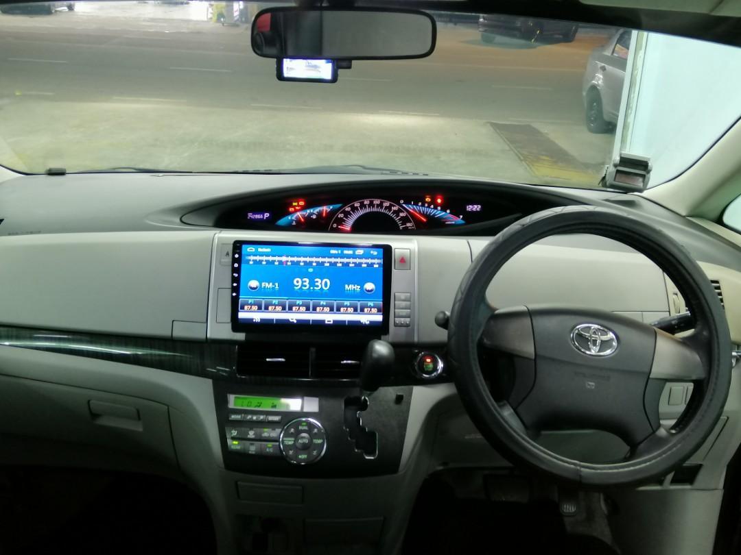 Car Rental Toyota Estima MPV 8 seater private hire PHV