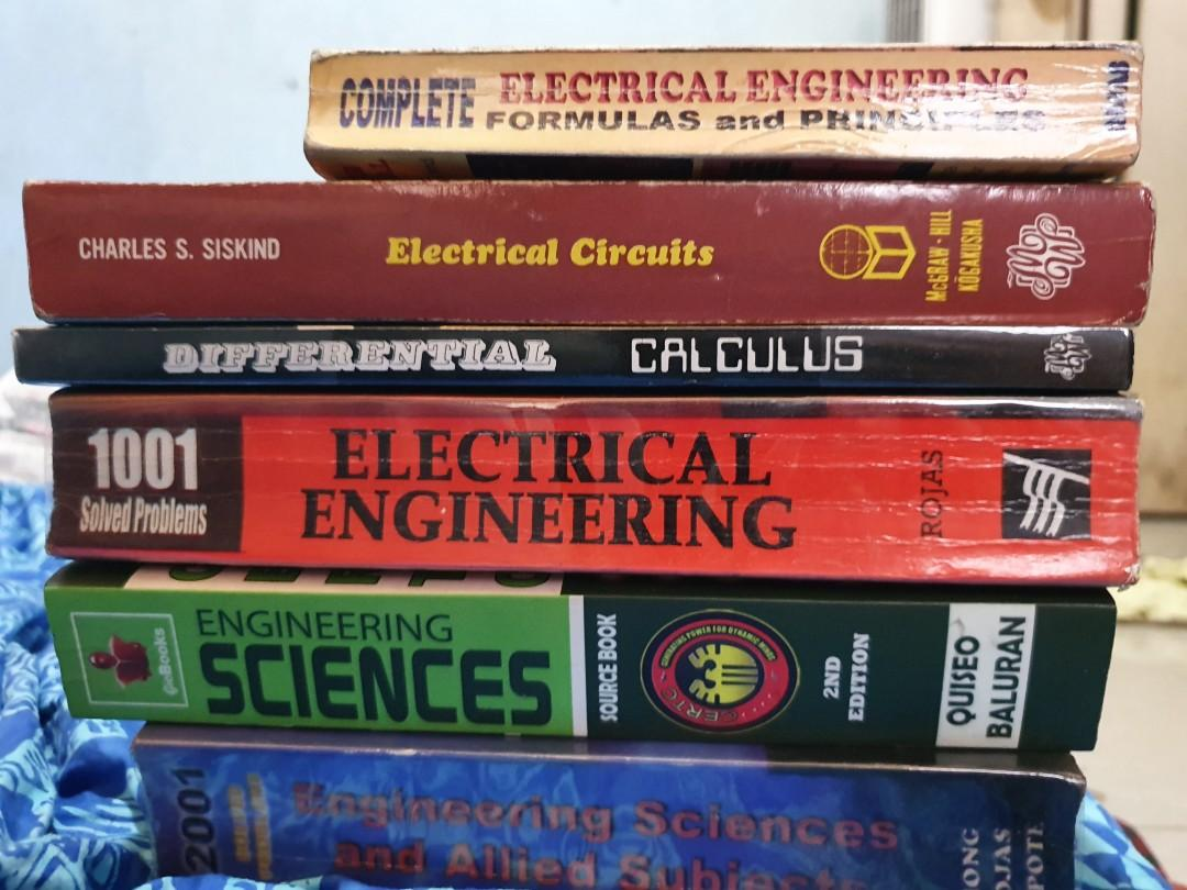 Engineering Electrical Calculus reviewers in great condition, some are good as new until March 5 only