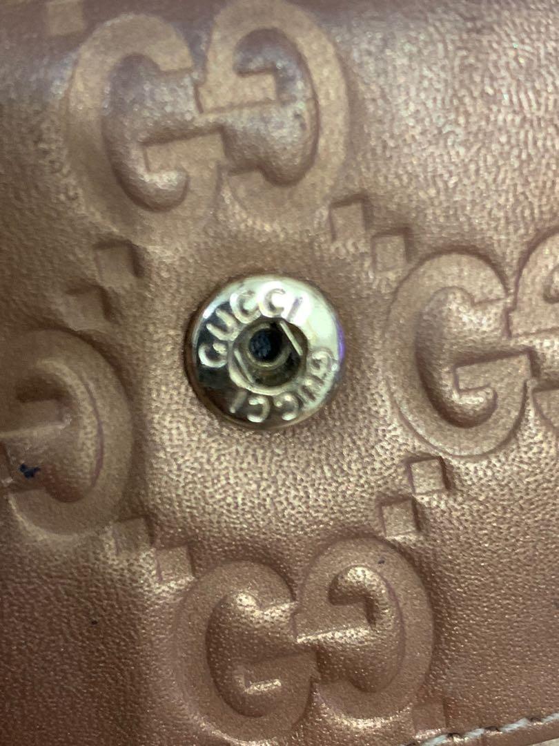 Gantungan kunci gucci original komplit with box, good cond 85% OK, full leather