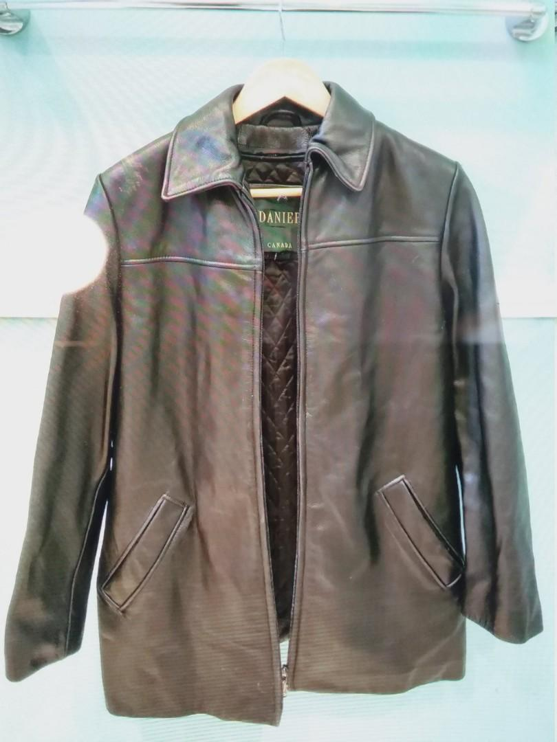 Garnier Genuine Leather women's Jacket with zip out liner
