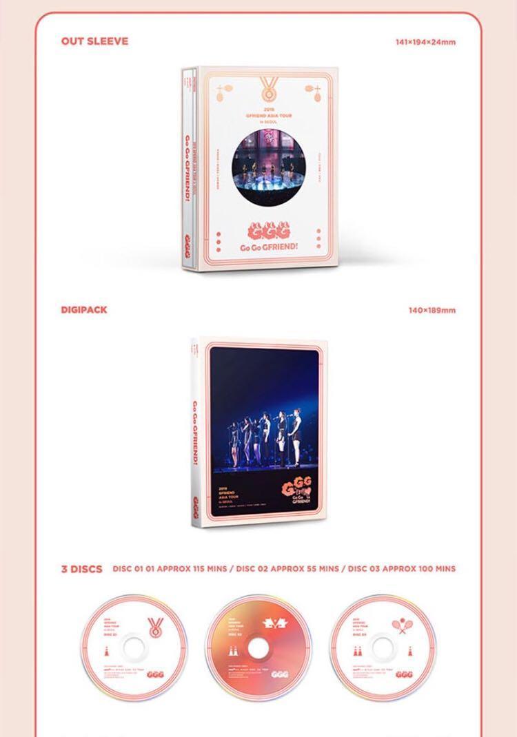 🌺GFriend🌺2019 GFriend Asia Tour [GO GO GFRIEND!] in Seoul (Blue-ray)