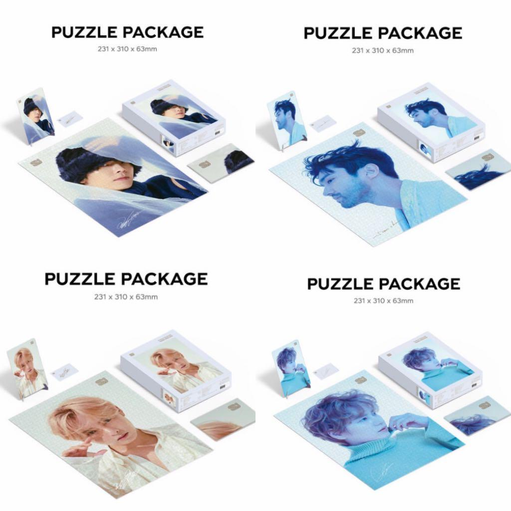 [GROUP ORDER][PREORDER] SUPER JUNIOR TIMELESS PUZZLE PACKAGE