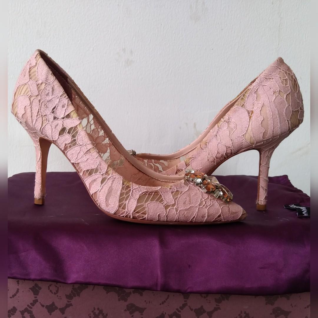 #SalingBerbagi #Dirumahaja Dolce & Gabbana High Heels - MIRROR - D&G Charles&Keith YSL LV Jimmy Choo