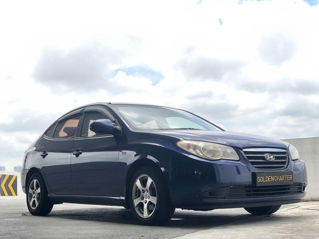 Hyundai Avante For Rent ! Gojek, Grab   PHV   Perosnal