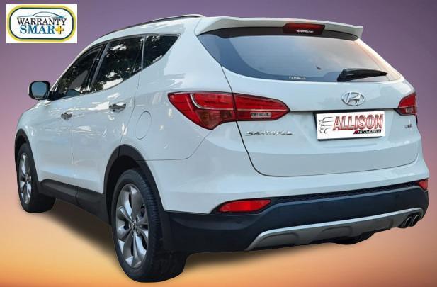 Hyundai Santa Fe 2.2 CRDi Diesel AT 2013 Putih Dp 19,9 Jt No Pol Genap