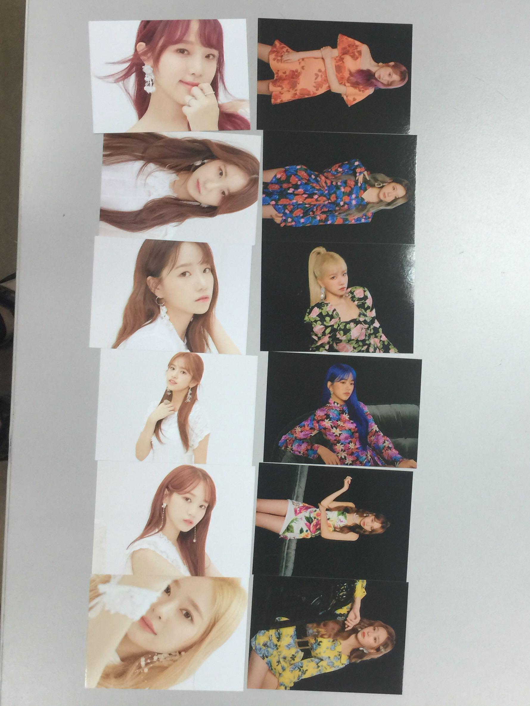 IZONE IZ*ONE Bloom IZ kihno photocards Nako Hitomi