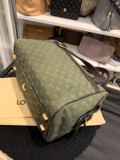 Louis Vuitton Bag lin josephine boston khaki green monogram authentic bag / tas original