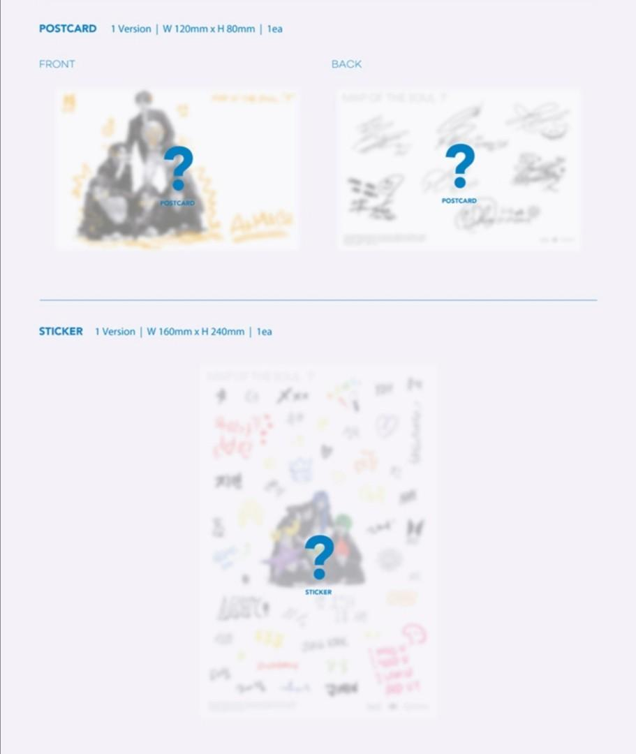 [NEW SLOTS] BTS Map of The Soul :7 Unsealed Albums