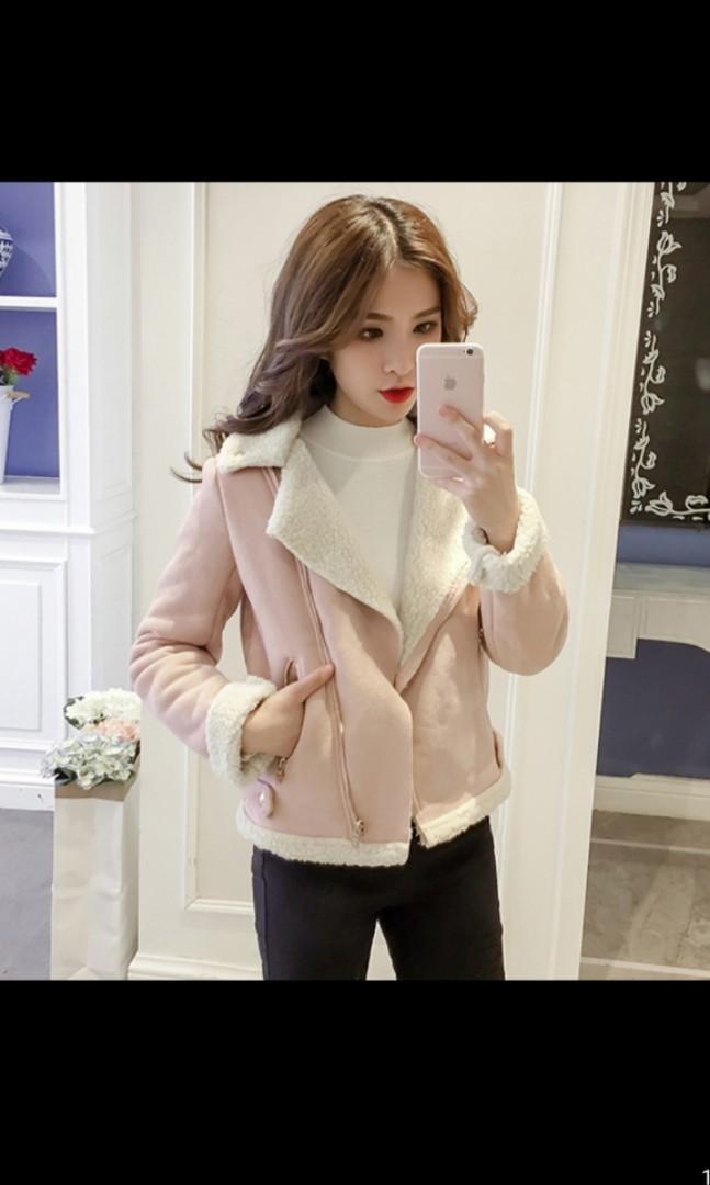 Po Suede Jacket Women S Autumm Winter 2019 Women S Fashion Clothes Outerwear On Carousell