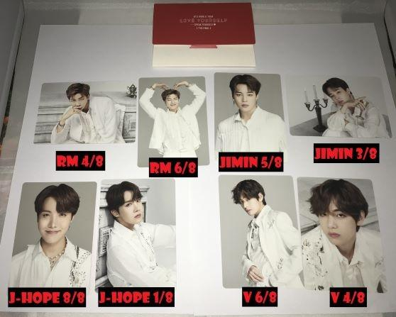 [READY STOCK] BTS OFFICIAL SPEAK YOURSELF FINAL MD - MINI PHOTOCARD (LOOSE)