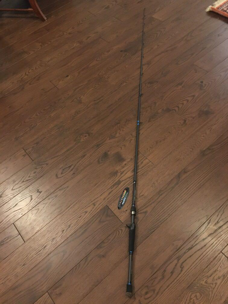 Streamside Predator Elite Bait casting rod (contact for details)