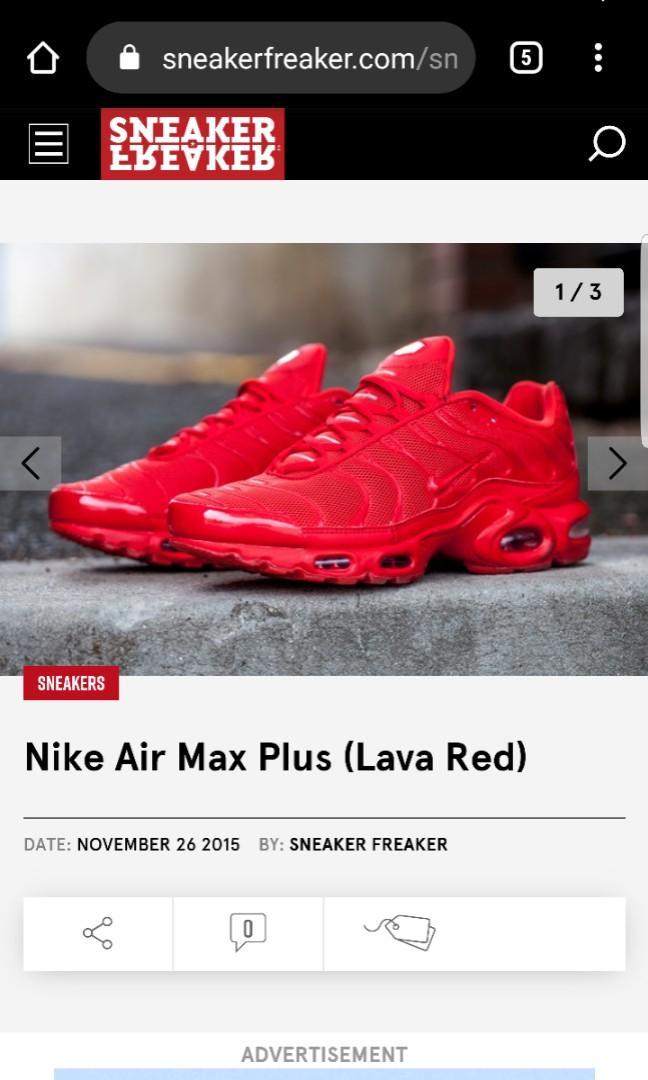 lava red tns