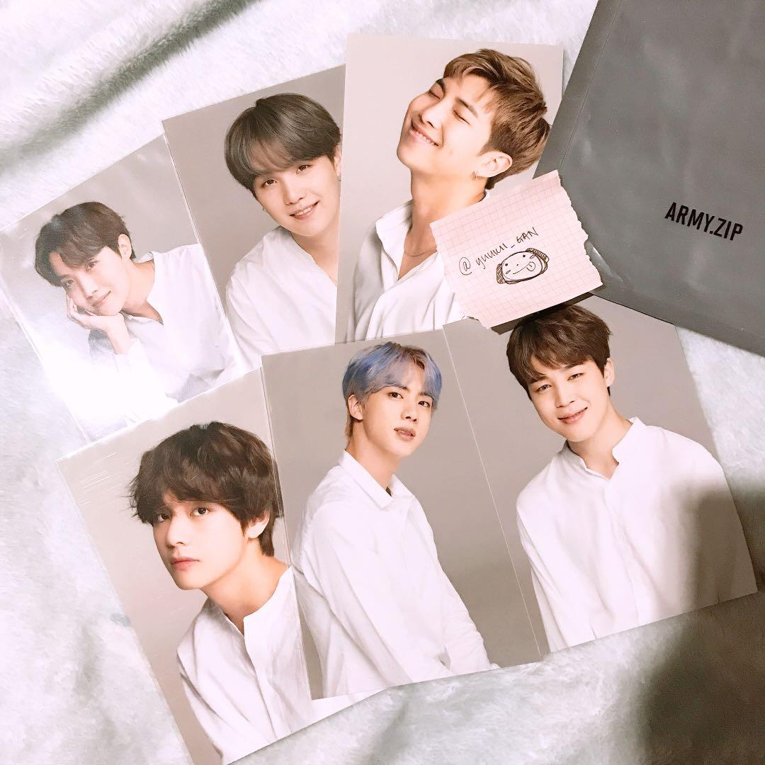 [WTS] BTS 6TH ARMY KIT RENEWAL - SPECIAL PHOTO SET