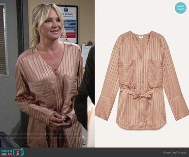 Aritzia Wilfred Zelie blouse