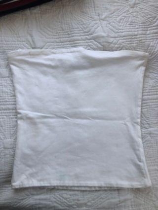 Cotton on white boobtube