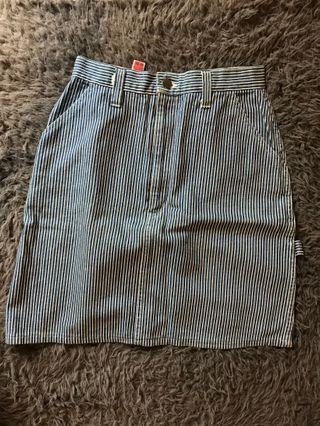 Mid Mini Stripes Skirt