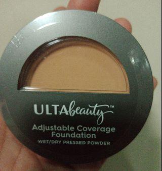 Super sale>>Ulta Adjustable coverage powder wet/ dry