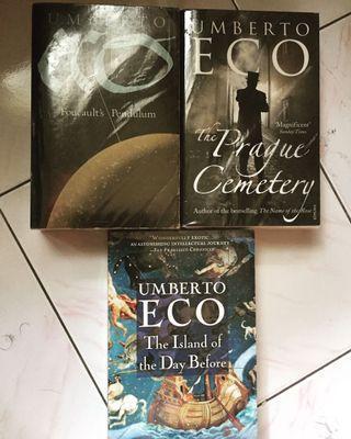 Umberto Eco Books for Sale