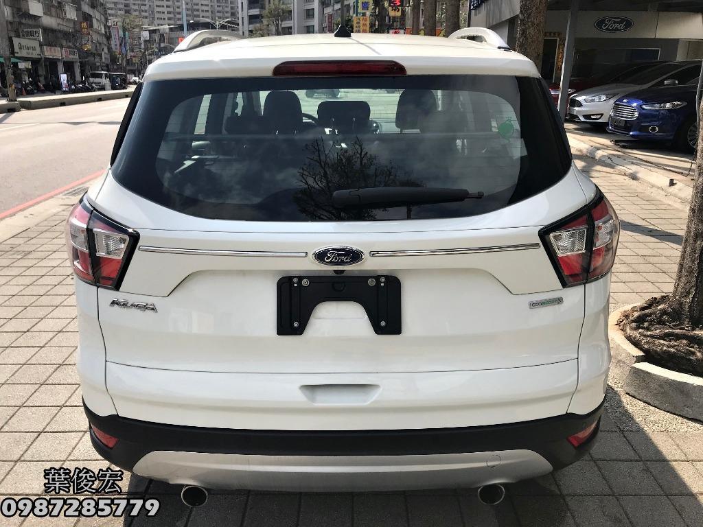 福特原廠認證中古車2019年Ford KUGA 1.5特仕版 自動跟車系統 試乘車退役 原廠認證保固