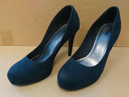 Basic heels Payless Fioni biru tua navy size 10 (US) 42.5 (EU)