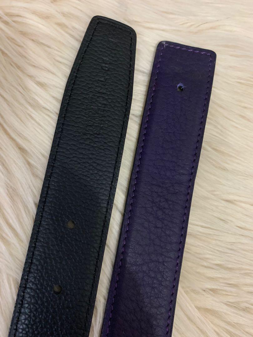 Belt Hermes Vip mirror tanpa buckle, brand new, rata2 90 cm x 3.2 cm, all dua muka kombinasi warna hitam, full leather, kulit lembut lentur 99% mirip ori, ada 5 pilihan warna