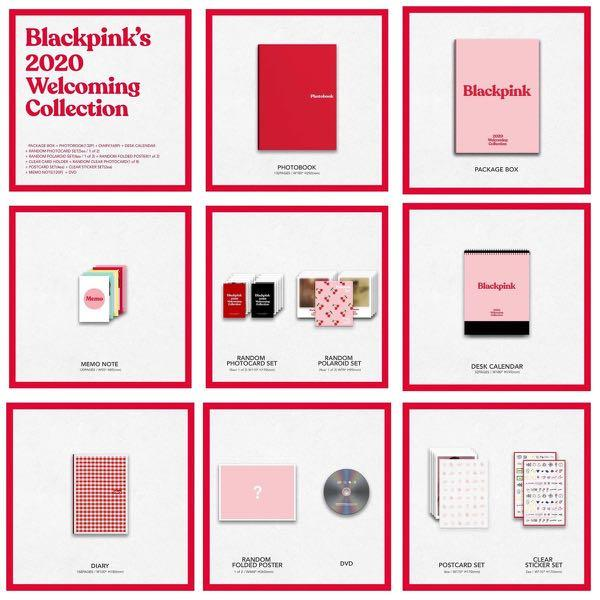 BLACKPINK WELCOMING COLLECTION  2020 LOOSE ITEM URGENTLY NEED TO SELL FAST🙏🏻🙏🏻🙏🏻😭