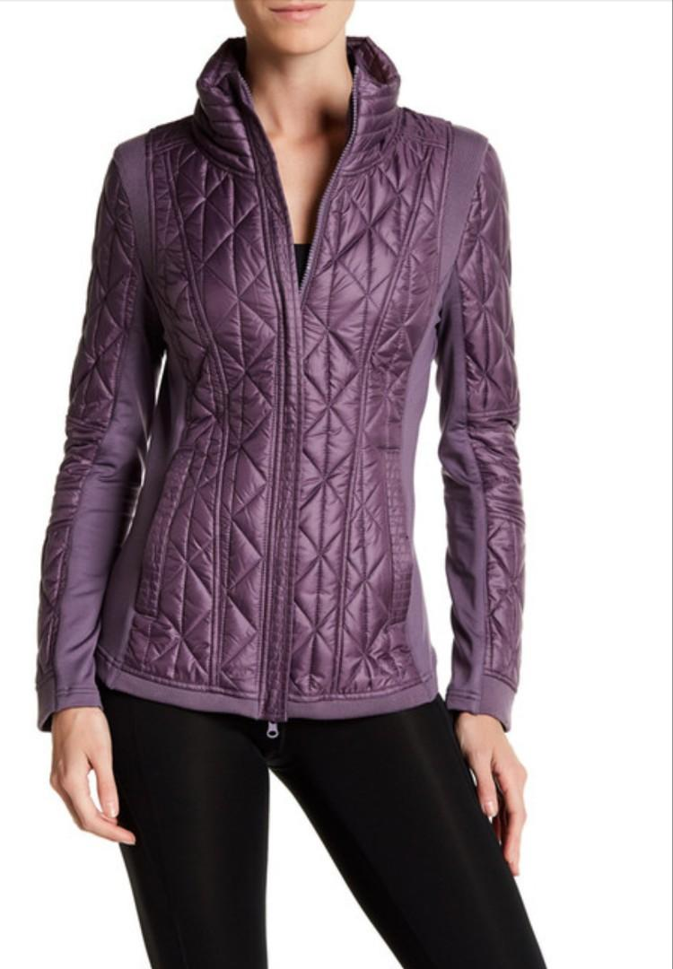 BNWT Zella Thermal Water Resistant Jacket (A LINE)