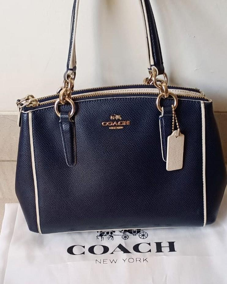 Coach Small KELSEY original leather ada no seri overall with deffect samar2 85% muluss