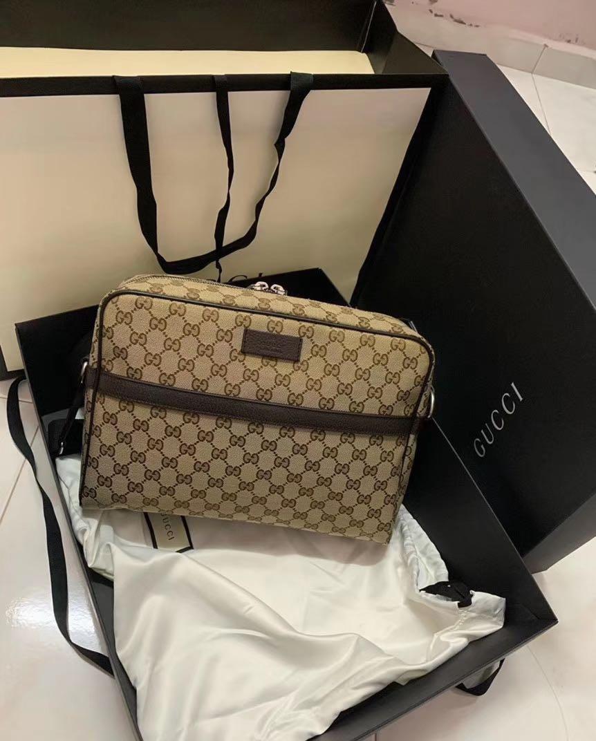🌹CUSTOMER PRE-ORDER🌹100% AUTHENTIC GUCCI GUCCISSIMA CAMERA CASE MESSENGER BAG