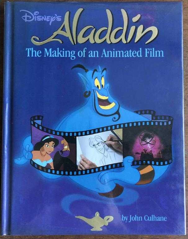 Disney Aladdin The Making of an Animated Film book coffe table mint first print