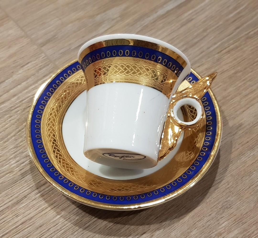 Mini Tea Cup With Saucer Design Craft Others On Carousell